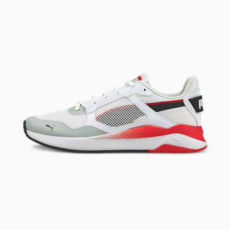 Anzarun Grid Trainers, Puma White-Puma Black-High Risk Red, small-GBR
