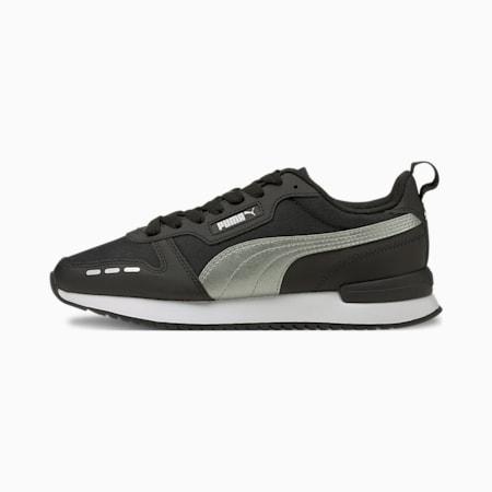 R78 Metallic FS Women's Shoes, Puma Black-Silver, small-IND