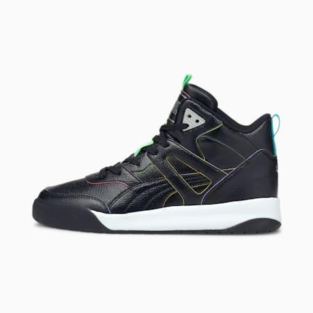 Cali Backcourt Mid Rainbow Sneakers, Puma Black-Puma Black, small-IND