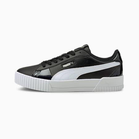 Carina Crew Iridescent Women's Sneakers, Puma Black-Puma White, small-IND