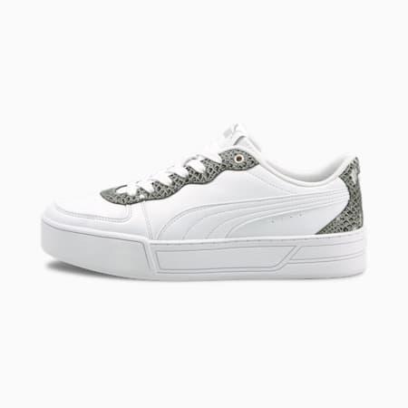 Zapatos deportivos PUMA Skye Untamed para mujer, Puma White-Puma White, pequeño