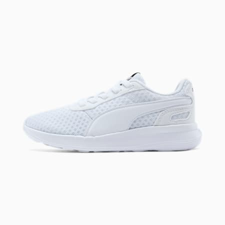 ST Activate Little Kids' Shoes, Puma White-Puma White, small