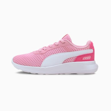 ST Activate AC Kids' Trainers, Pale Pink-Puma White, small-SEA