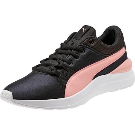 Adela Girl's Sneakers JR, Puma Black-Bridal Rose, small