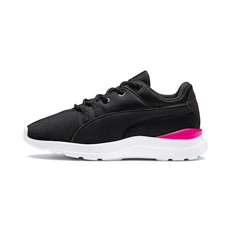 Adela Girls' Shoes, Puma Black-Puma Black, small-IND
