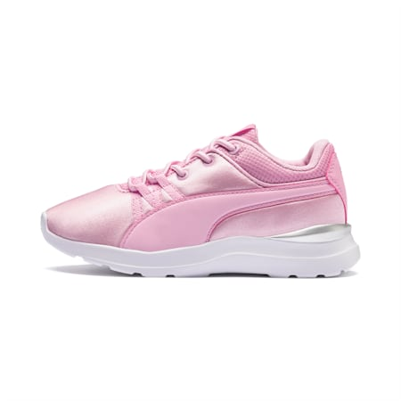 Adela AC Girl's Little Kids' Shoes, Pale Pink-Pale Pink, small