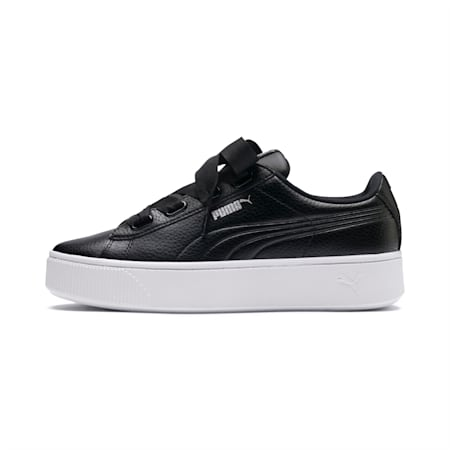 Vikky Stacked Ribbon Core Women's Shoes, Puma Black-Puma Black, small-IND
