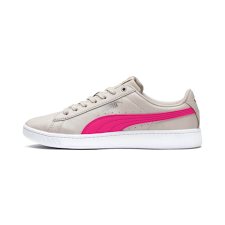 PUMA Vikky v2 Summer Pack Women's Sneakers, Silver Gray-F Purple-Silver, small-IND