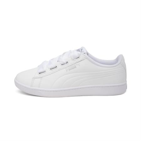 PUMA Vikky v2 Ribbon Core Women's Shoes, Puma White-Puma Silver, small-IND