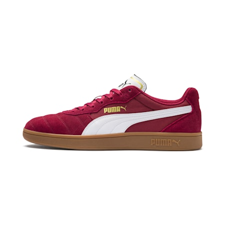 Zapatos deportivos Astro Kick, Cordovan-Puma White-Puma Team Gold, pequeño