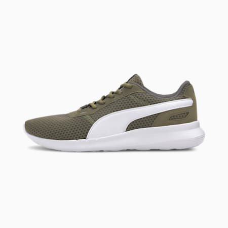 ST Activate SoftFoam+ Sneakers, Burnt Olive-Puma White, small-IND