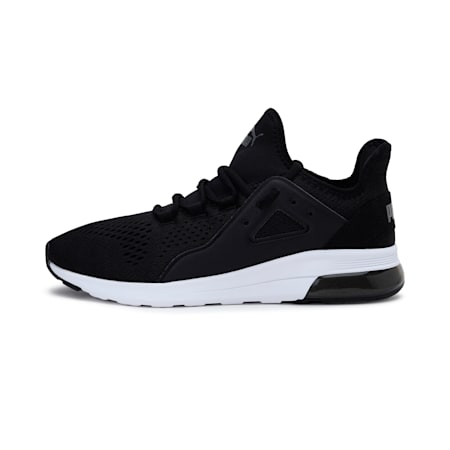 Electron Street Mesh SoftFoam+ Shoes, P.Black-P.Black-CASTLEROCK, small-IND