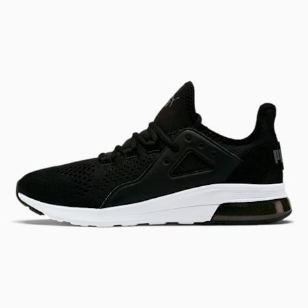 Electron Street Eng Mesh Men's Sneakers, P.Black-P.Black-CASTLEROCK, small