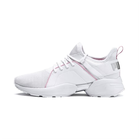 Sirena Women's Sneakers, Puma White-Pale Pink, small-IND