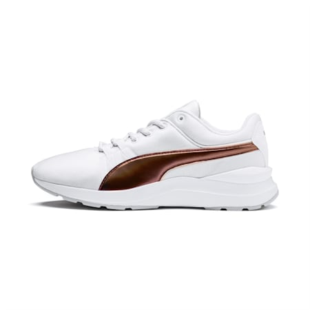 Adela Trailblazer Women's Sneakers, Puma White-Puma White, small