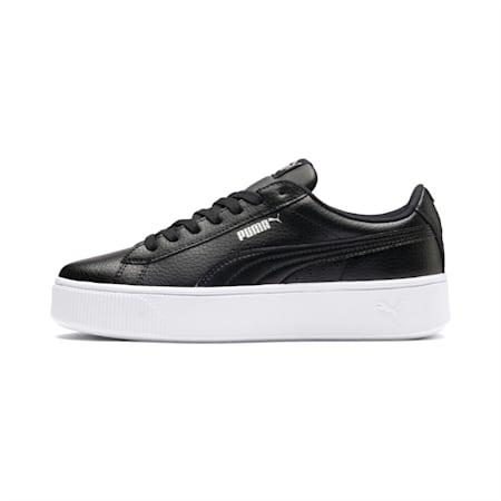 PUMA Vikky Stacked Women's Sneakers, Puma Black-Puma Black, small