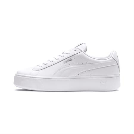 Zapatos deportivosPUMA Vikky Stacked para mujer, Puma White-Puma White, pequeño