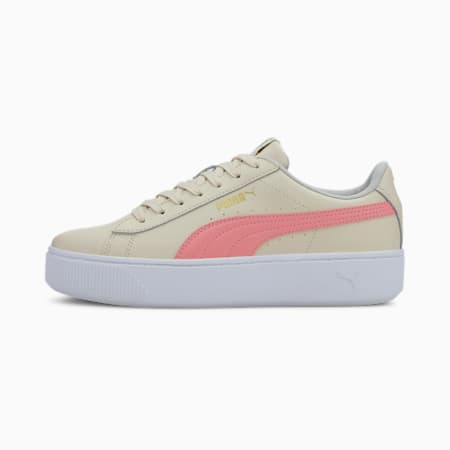 PUMA Vikky Stacked Women's Shoes, Vaporous Gray-Salmon Rose, small-IND