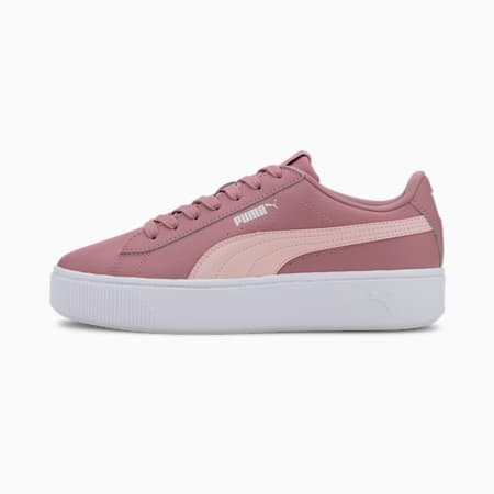 PUMA Vikky Stacked Women's Shoes, Foxglove-Peachskin, small-IND