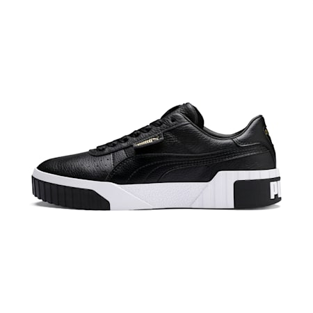 Cali Damen Sneaker, Puma Black-Puma White, small
