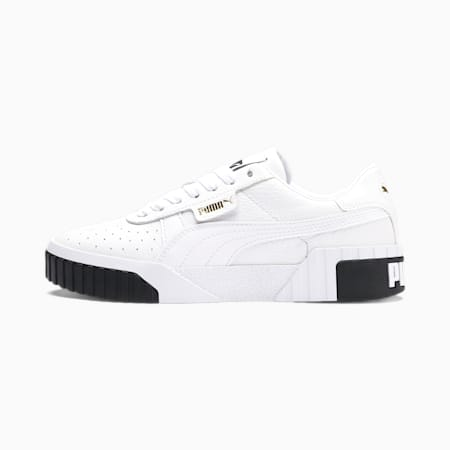 Cali Damen Sneaker, Puma White-Puma Black, small