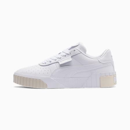Cali sportschoenen voor dames, Puma White-Whisper White, small