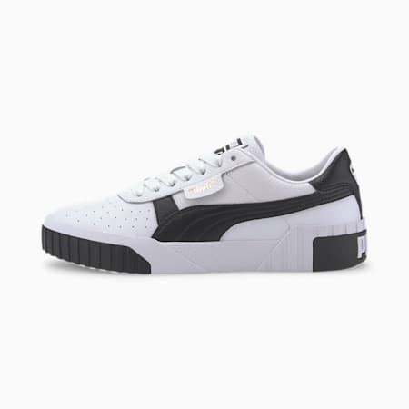 Cali Damen Sneaker, Puma White-Puma Black, small