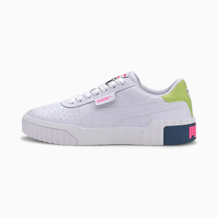Cali Women's Sneakers, Puma White-Luminous Pink, small-GBR