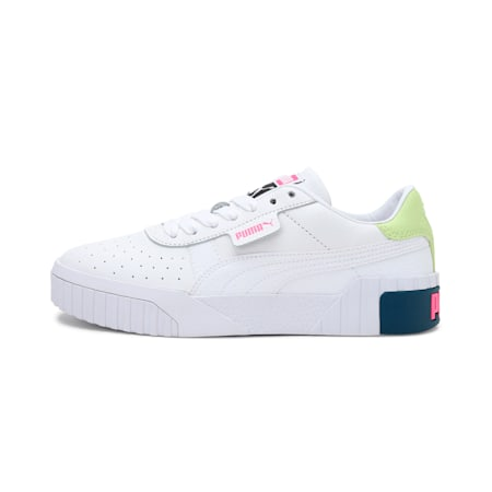 Cali Women's Sneakers, Puma White-Luminous Pink, small-IND