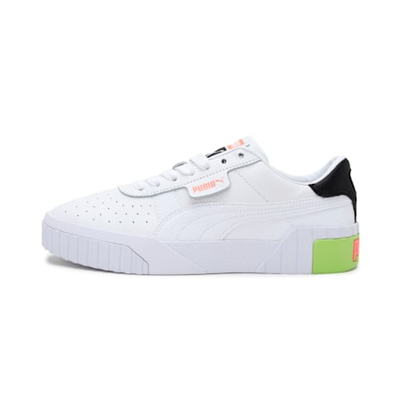 Cali Women's Sneakers, Puma White-Nrgy Peach, small-IND