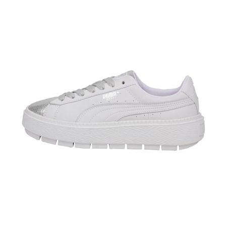 BioHacking Platform Women's Shoes, Puma White-Puma Silver, small-IND