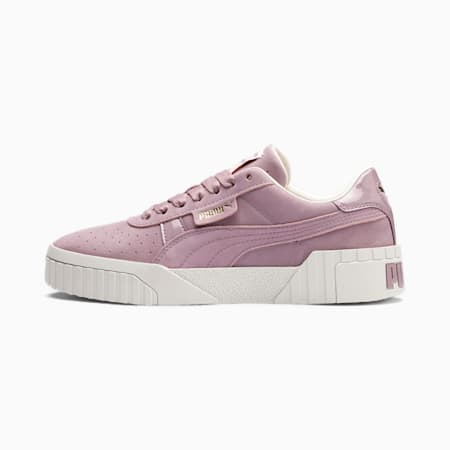 Cali Nubuck Women's Trainers, Elderberry, small-SEA