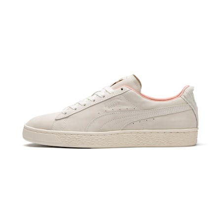 Suede Classic Easter Sneakers, Whisper White-Whisper White, small