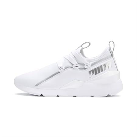 Muse 2 Trailblazer Women's Sneakers, Puma White-Puma Silver, small