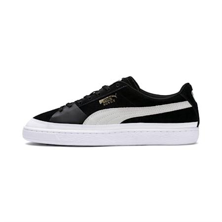 Suede Skate Sneakers, Puma Black-Puma White, small