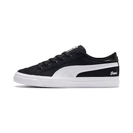 Capri Tennis Shoes, Puma Black-Bright Wht-P Wht, small-IND