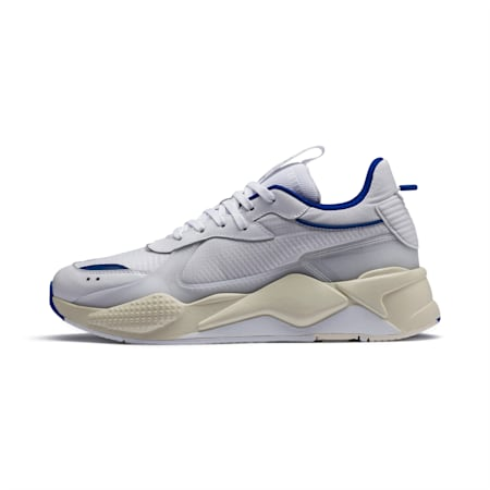 RS-X TECH Trainers, Puma White-Whisper White, small
