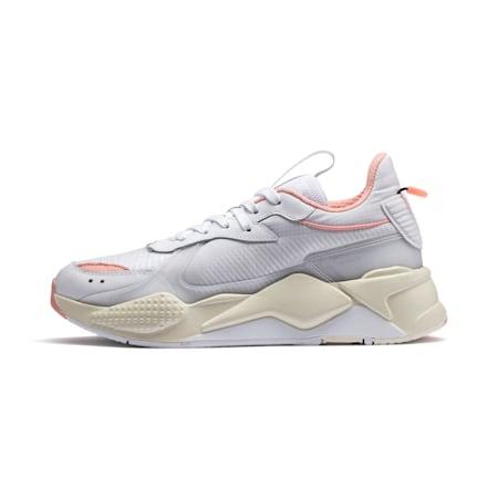 RS-X TECH Trainers, Puma White-Peach Bud, small