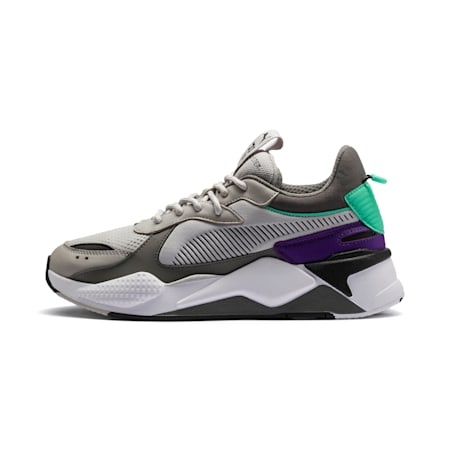 RS-X Tracks Trainers, Gray Violet-Charcoal Gray, small
