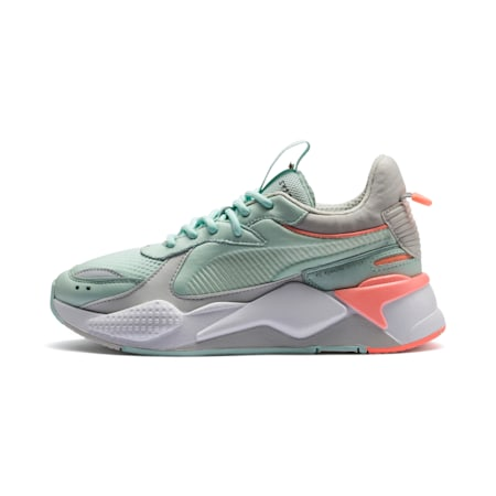 RS-X Tracks Sneaker, Fair Aqua-Glacier Gray, small