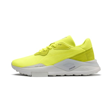 SHOKU In Plain Sight Trainers, Fizzy Yellow-Glacier Gray, small-SEA