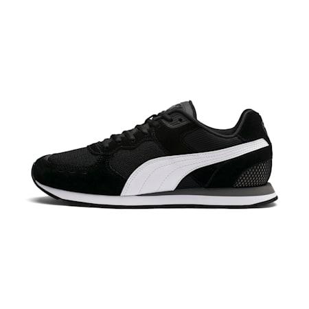 Vista Men's Sneakers, Black-White-Charcoal Gray, small