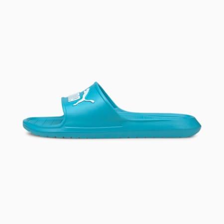 Divecat v2 Unisex Slides, Scuba Blue-Puma White, small-IND