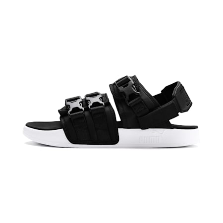 Leadcat YLM 19 Sandals, Puma Black-Puma White, small-SEA