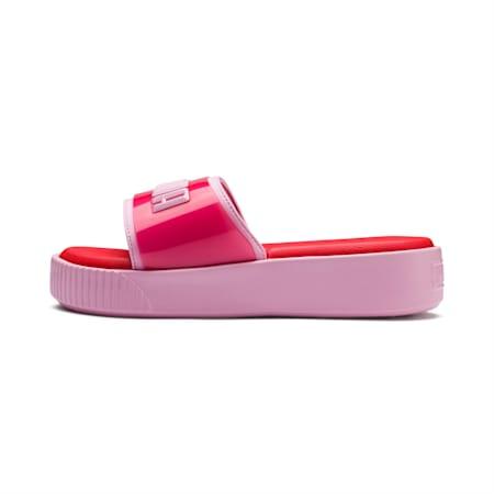 플랫폼 슬라이드 패션 우먼스, Hibiscus -Pale Pink, small-KOR