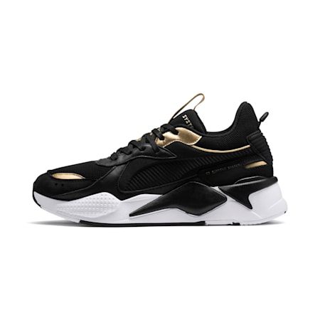 RS-X TROPHY Shoes, Puma Black-Puma Team Gold, small-IND