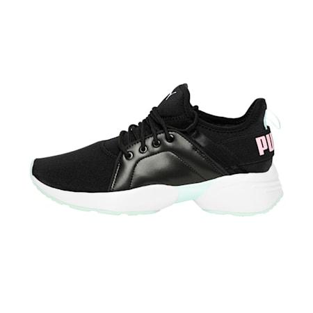 Sirena Trailblazer Women's Sneakers, Puma Black-Fair Aqua, small-IND