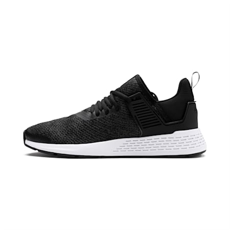 Insurge Heather Sneakers, Black-Asphalt-White, small-IND