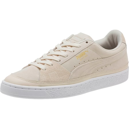 Suede Skate Premium Sneakers, Whisper White-Puma White, small