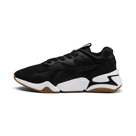 Nova '90s Bloc Women's Sneakers, Puma Black-Puma Black, small